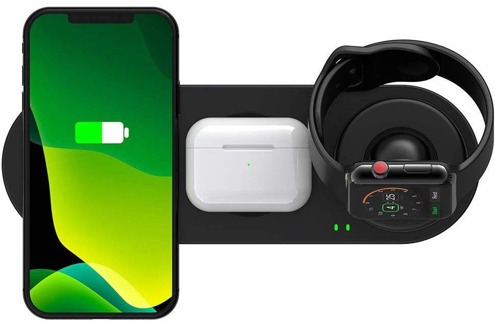3in1ワイヤレス充電器の画像