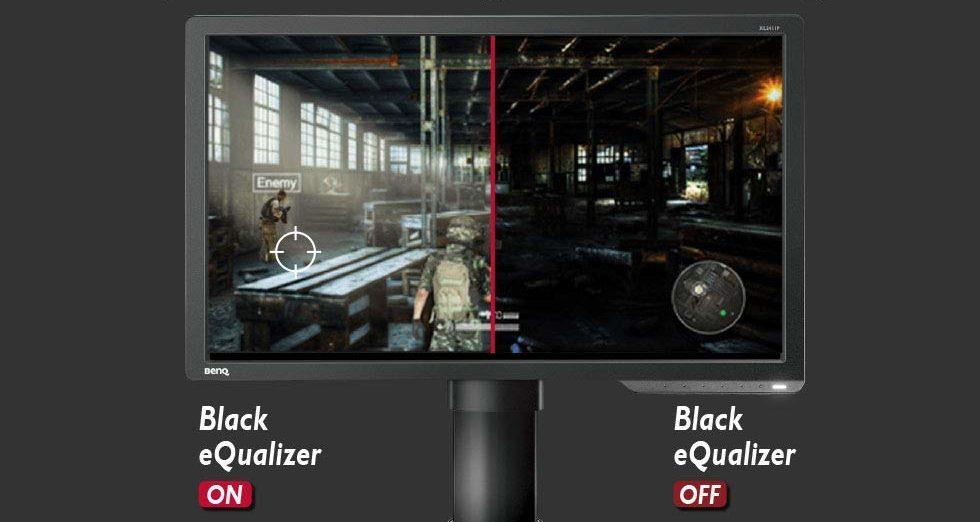 Black eQualizer機能の画像