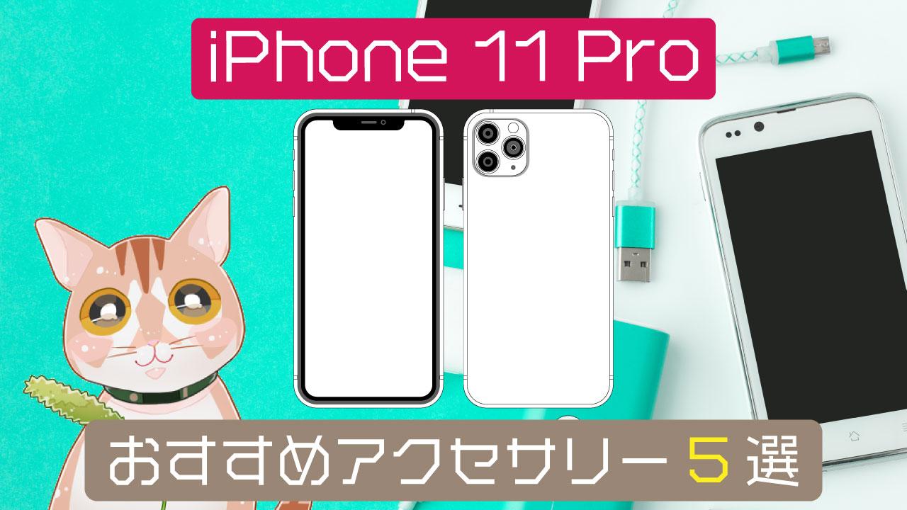 iphone11proのおすすめアクセサリー5選!!純正はかなりカッコ良いという発見!!