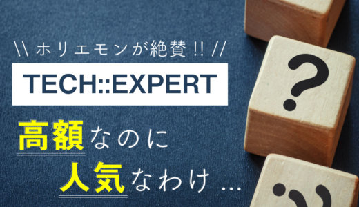 TECH::EXPERT(テックエキスパート)の評判は?高額なのに人気なのはなぜ?