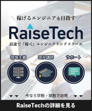 RaiseTechCTA画像